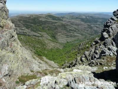 Senderismo Segovia - Macizo de la Buitrera; sendas por madrid